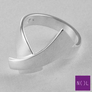 AG10104.8 NOL Zilveren ring