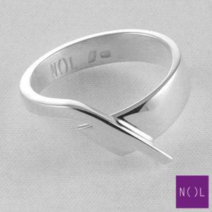 AG12101.6 NOL Zilveren ring