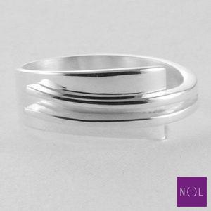 AG12127.9 NOL Zilveren ring