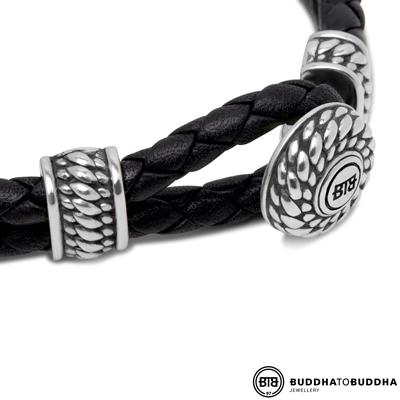 220BL Ben Buddha to Buddha Knot armband