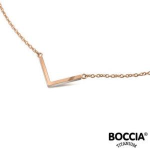 08015-03 Boccia Titanium collier
