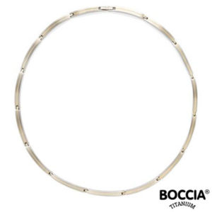 08017-02 Boccia Titanium collier