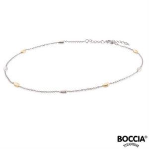 08026-03 Boccia Titanium collier