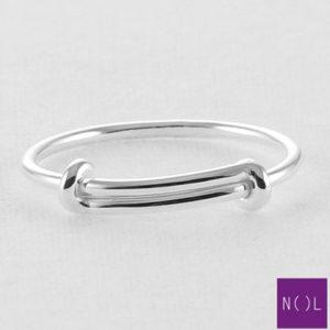 AG74114 NOL Zilveren ring