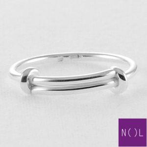 AG74116 NOL Zilveren ring