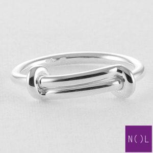 AG74120 NOL Zilveren ring