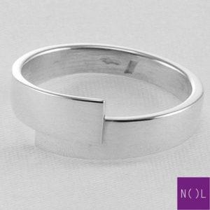 AG77109.5 NOL Zilveren ring