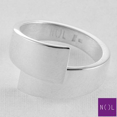 AG77109.9 NOL Zilveren ring