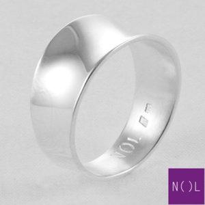 AG77117 NOL Zilveren ring