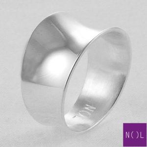 AG77118 NOL Zilveren ring