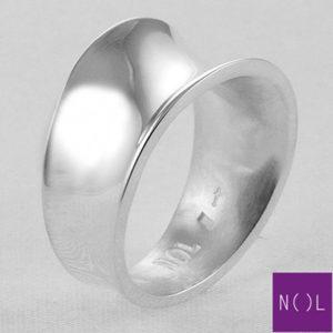 AG77127 NOL Zilveren ring