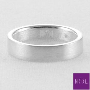 AG77172.4,5 NOL Zilveren ring