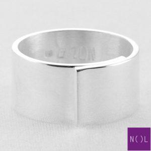 AG77173.10 NOL Zilveren ring