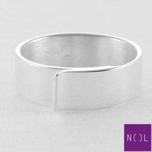 AG77173.6 NOL Zilveren ring