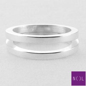 AG78101.3 NOL Zilveren ring