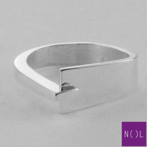 AG78103.9 NOL Zilveren ring