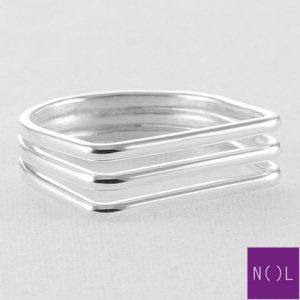 AG80121 NOL Zilveren ring