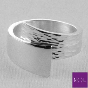 AG80134.9 NOL Zilveren ring