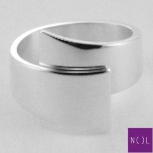 AG80154.11 NOL Zilveren ring