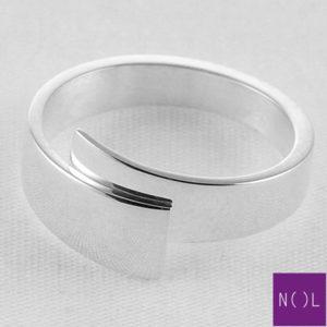 AG80154.5 NOL Zilveren ring