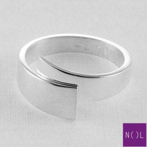 AG80154.7 NOL Zilveren ring