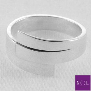 AG80155.7 NOL Zilveren ring