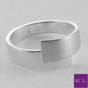 AG80156.7 NOL Zilveren ring