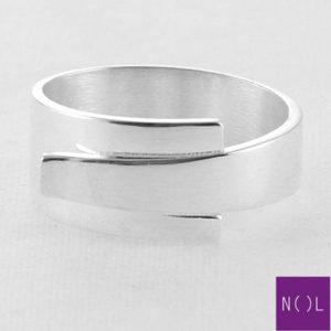 AG81116 NOL Zilveren ring