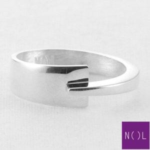 AG81127.7 NOL Zilveren ring