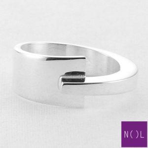 AG81127.9 NOL Zilveren ring