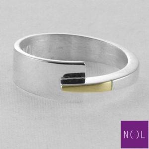 AG81128.7 NOL Zilveren ring