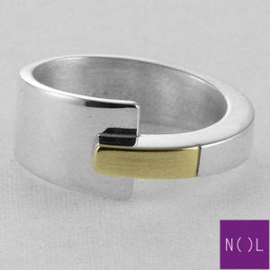 AG81128.9 NOL Zilveren ring