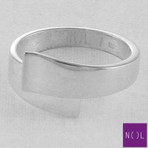 AG82101.7 NOL Zilveren ring