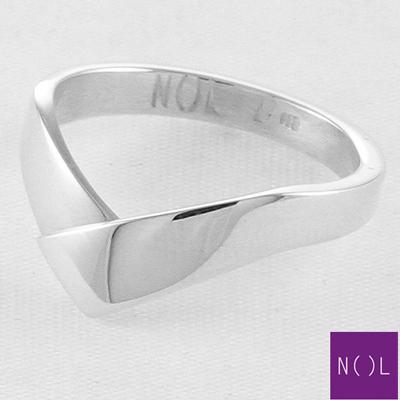 AG82102.5 NOL Zilveren ring