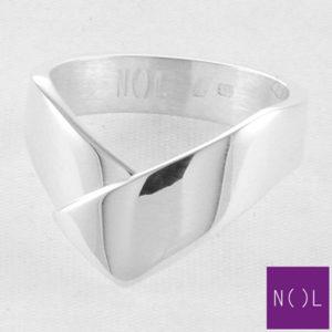 AG82102.9 NOL Zilveren ring