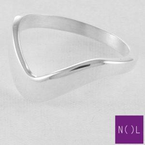 AG87134 NOL Zilveren ring