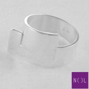 AG90101.10 NOL Zilveren ring