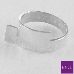 AG90101.8 NOL Zilveren ring