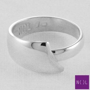 AG90106.10 NOL Zilveren ring