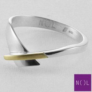 AG90128.4 NOL Zilveren ring