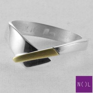 AG90128.6 NOL Zilveren ring