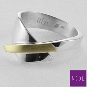 AG90128.8 NOL Zilveren ring