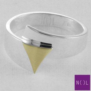 AG95133 NOL Zilveren ring