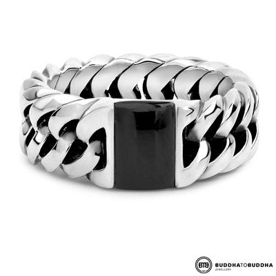 603ON Buddha to Buddha Chain Stone Ring