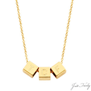 Just Franky 3 Cube Collier