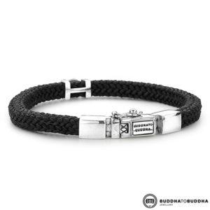 780BL Denise Cord Buddha to Buddha armband