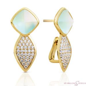EAG06-G14 Sparkling Jewels Oorbellen