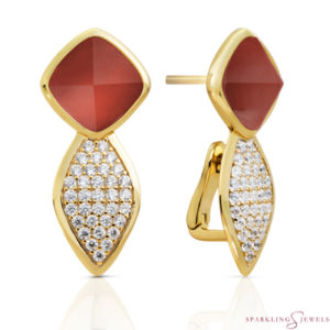EAG06-G33 Sparkling Jewels Oorbellen