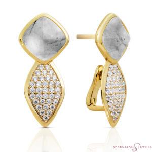 EAG06-G34 Sparkling Jewels Oorbellen