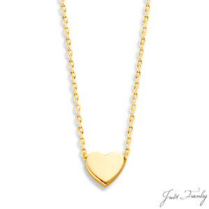 Just Franky Capital Heart Collier